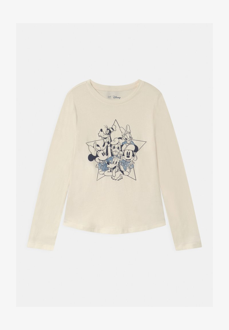 GAP - GIRL DISNEY MICKEY MOUSE & FRIENDS - Long sleeved top - ivory frost
