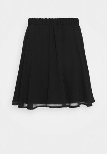 Pamela Reif x NA-KD CIRCLE SKIRT - Jupe trapèze - black