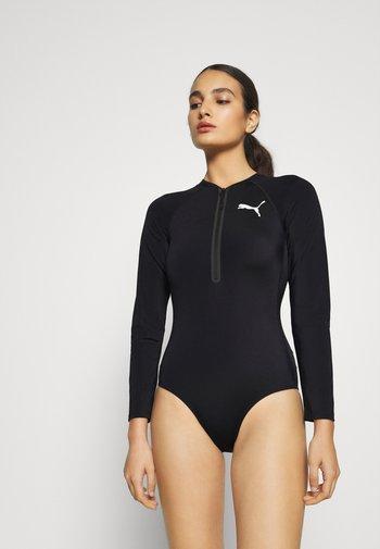 SWIM WOMEN LONG SLEEVE SURF SUIT - Swimsuit - black