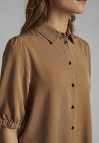 Nümph - Button-down blouse - tannin - 2