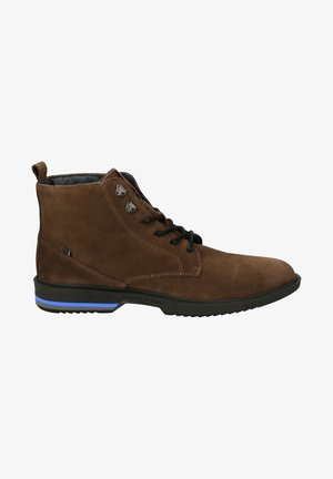BRYAN - Lace-up ankle boots - braun
