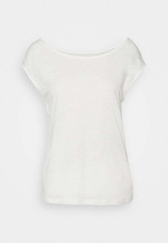 TEE - T-shirt - bas - marshmallow