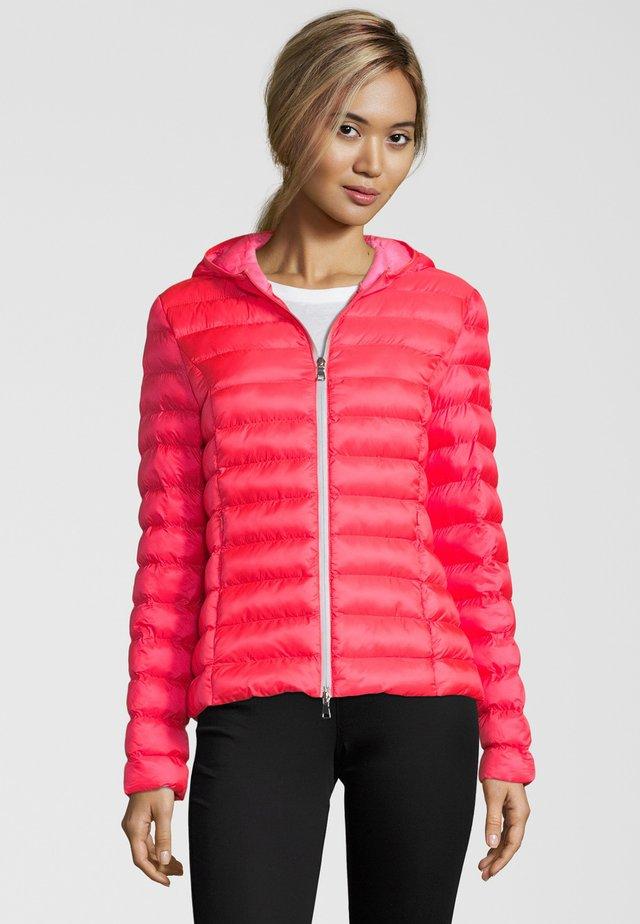 STEPPJACKE BERGEN - Winter jacket - korallenrot