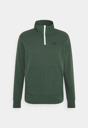 Sweatshirt - galactic jade/white