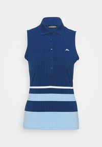 J.LINDEBERG - TESS SLEVEELESS GOLF - Top - midnight blue - 4