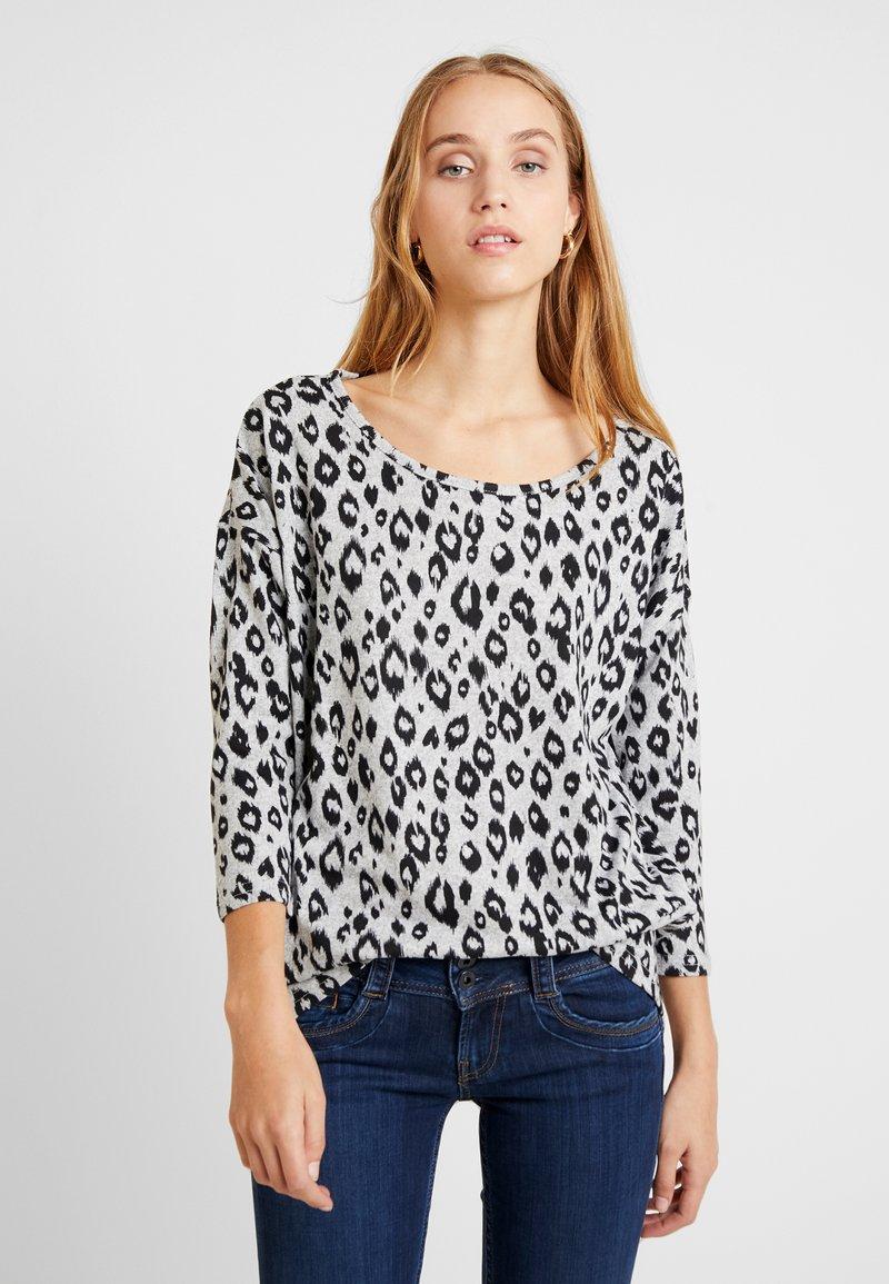 ONLY - ONLELCOS - Camiseta de manga larga - light grey melange