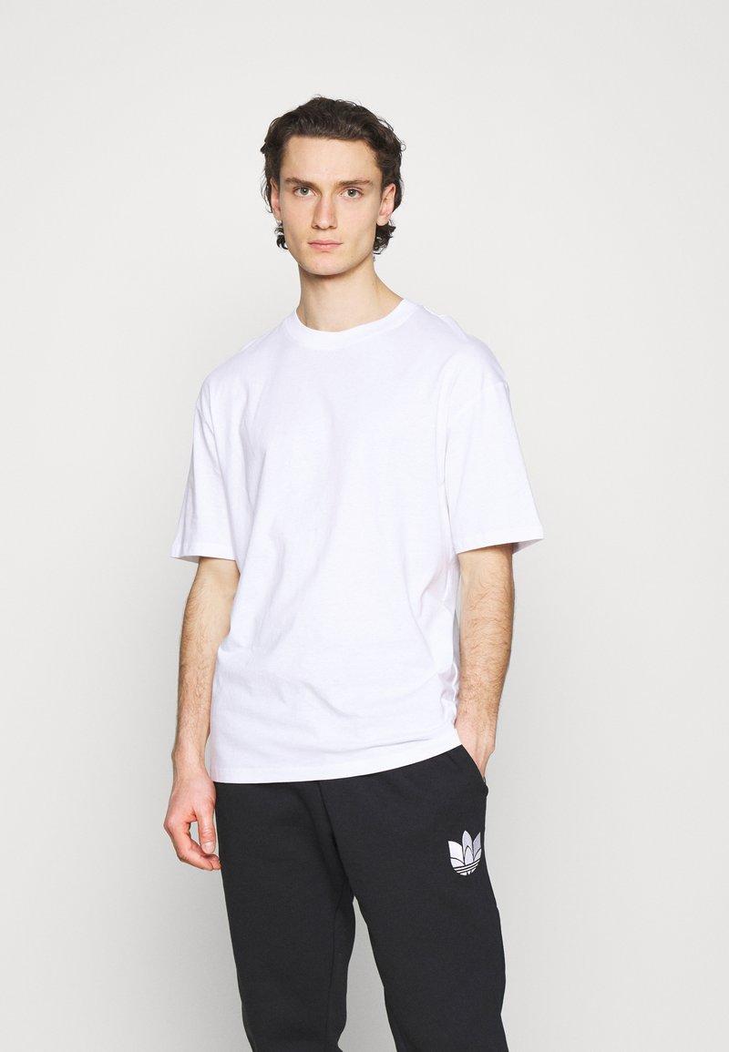 Jack & Jones - JORBRINK CREW NECK - T-shirt basique - white