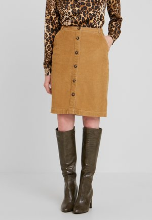 Pencil skirt - camel