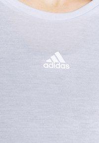 adidas Performance - UFORU - Long sleeved top - blue melange/black - 4