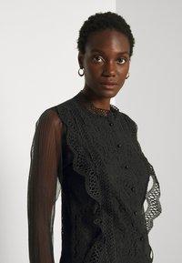 Derhy - APPEL BLOUSE - Button-down blouse - black - 3