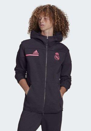 Training jacket - black/sprpnk