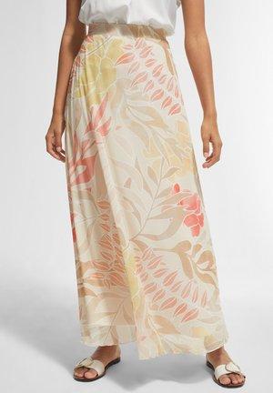 BEDRUCKTER - A-line skirt - coral leaf