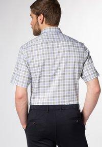 Eterna - MODERN FIT - Shirt - olive/blue - 1