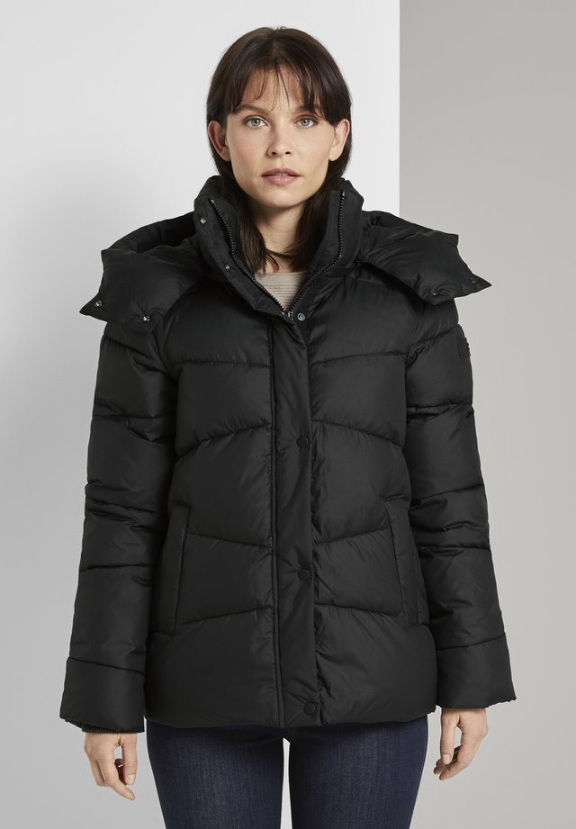 Kurtka zimowa - deep black
