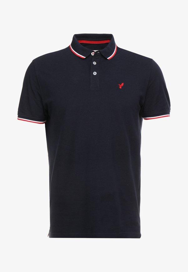 Pier One Koszulka polo - dark blue/granatowy Odzież Męska JPEV