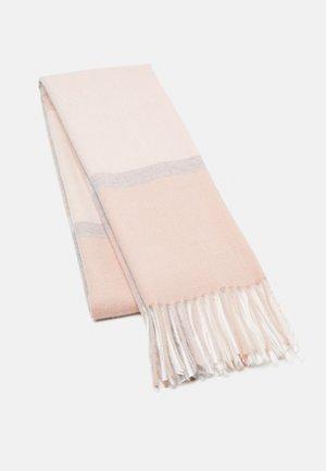 Halsduk - pink/grey/off-white
