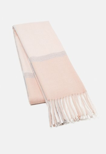 Sjal - pink/grey/off-white