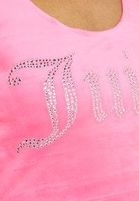 Juicy Couture - JADE CROP - Top - fluro pink - 5