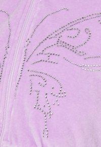 NEW girl ORDER - DIAMANTE BUTTERFLY HOODIE - Zip-up sweatshirt - lilac - 5