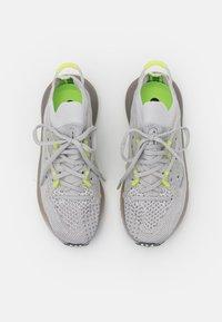 adidas Originals - 4D FUSIO UNISEX - Trainers - grey one/grey six/solar yellow - 3