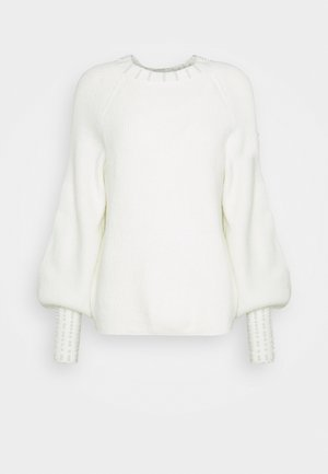 ONLPEARL - Sweter - cloud dancer