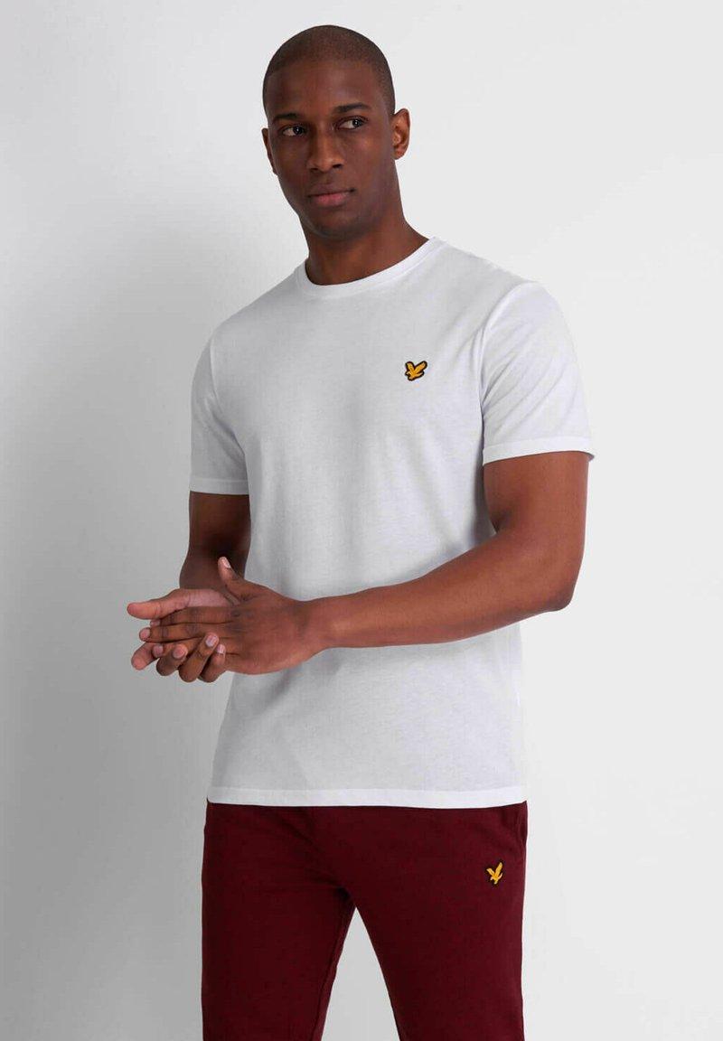 Lyle & Scott - MARTIN  - Basic T-shirt - white