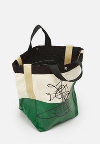 Vivienne Westwood - WORKER RUNNER HOLDALL - Tote bag - green/beige - 2