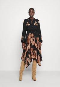 Desigual - IVY - Shirt dress - black - 0