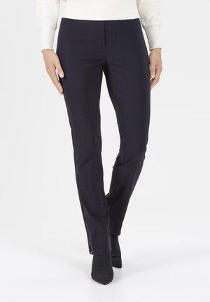 HOSE INA IN STRETCHIGER BENGALINE WINTERWARM - Trousers - dunkelblau