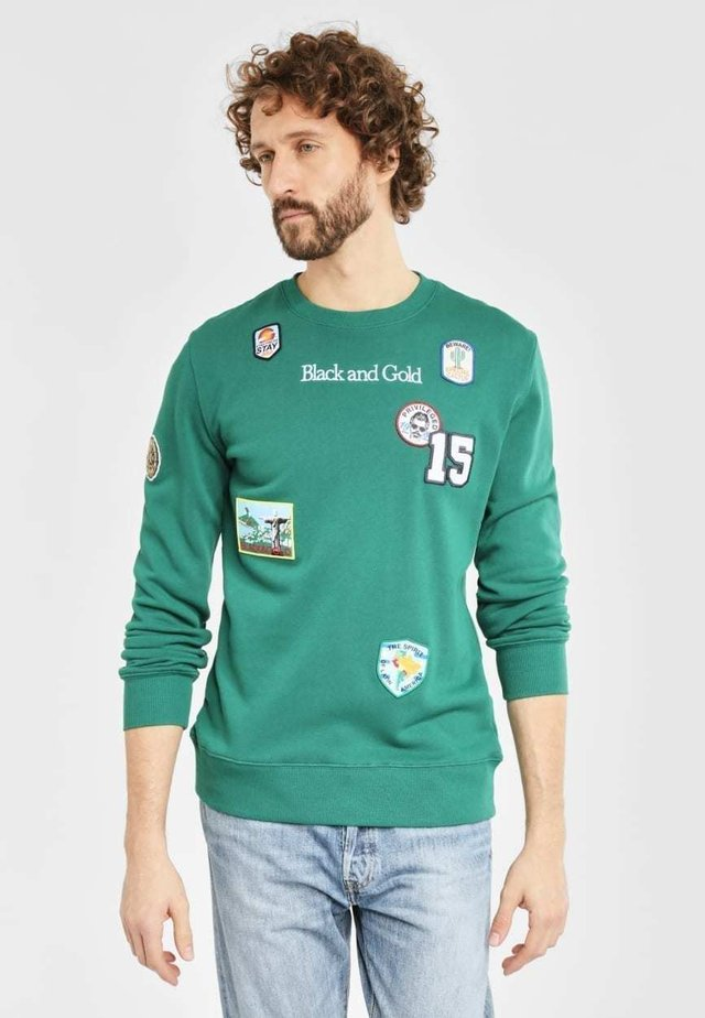NEW PATCHOS - Sweater - green