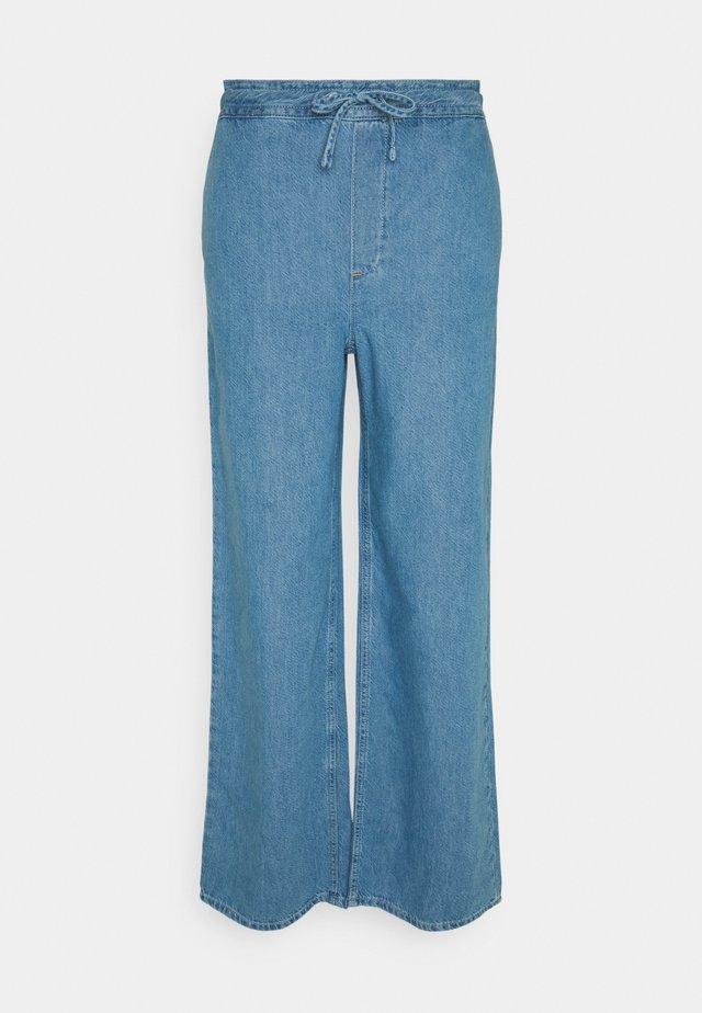 KATHLEEN - Straight leg jeans - blue