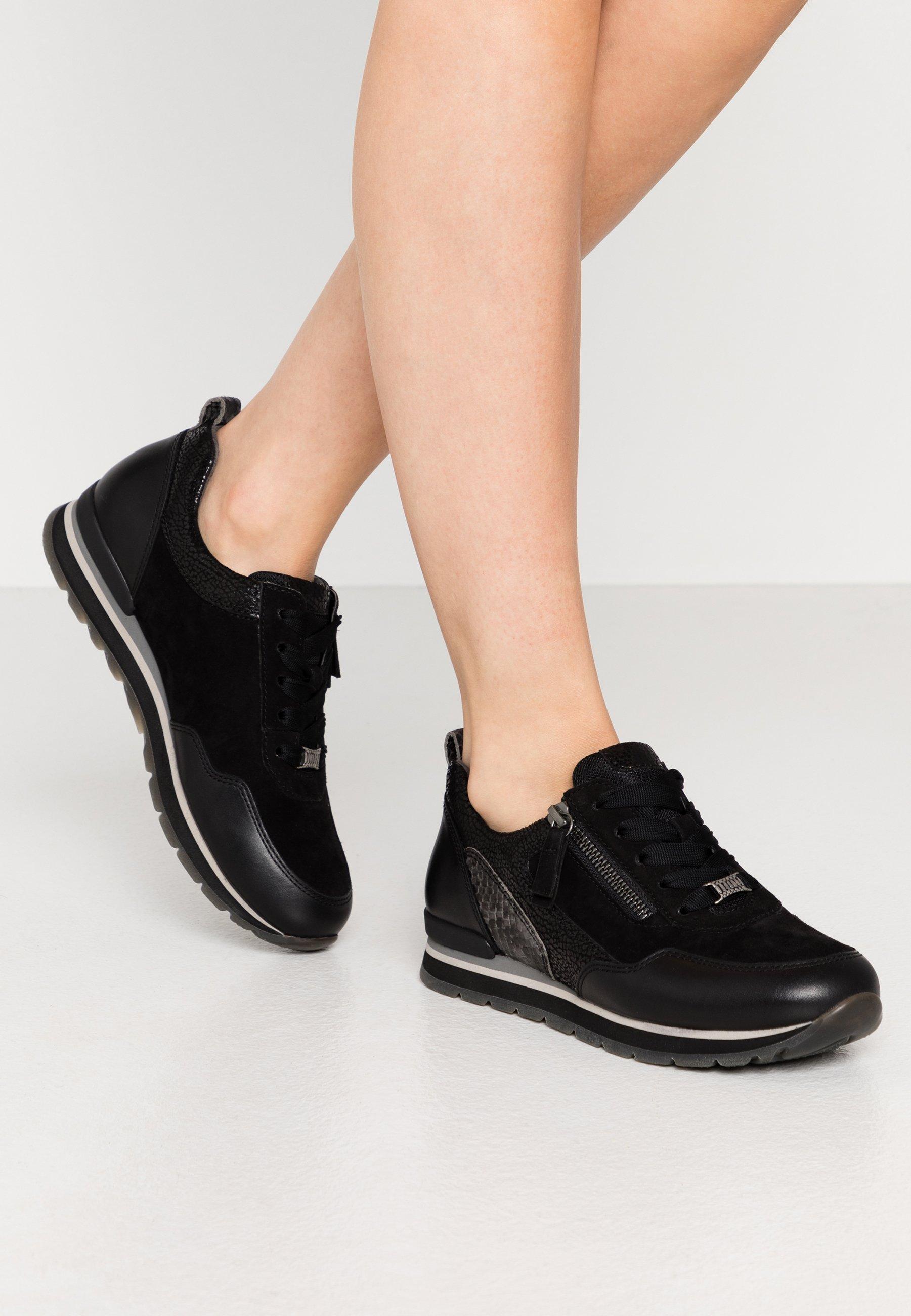 Sneaker low schwarzdark grey