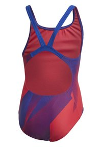 adidas Performance - GIRLS GRAPHIC SWIMSUIT - Swimsuit - pink - 4