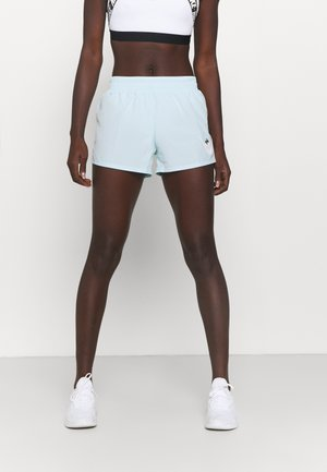 RUN SHORT - kurze Sporthose - glacier blue