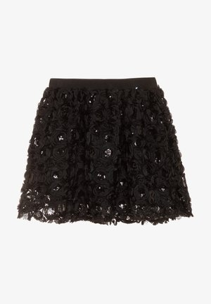 BRICKLY - Minifalda - black