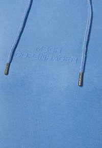 Moss Copenhagen - LOGO HOOD  - Long sleeved top - lake blue - 2
