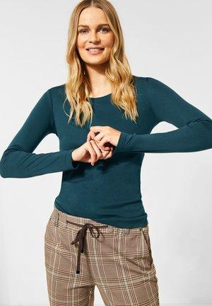 Long sleeved top - dark green