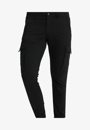 JJIPAUL JJFLAKE - Cargo trousers - black