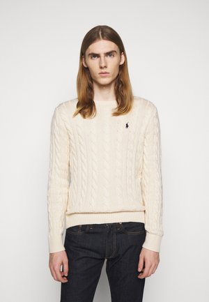 CABLE - Sweter - andover cream