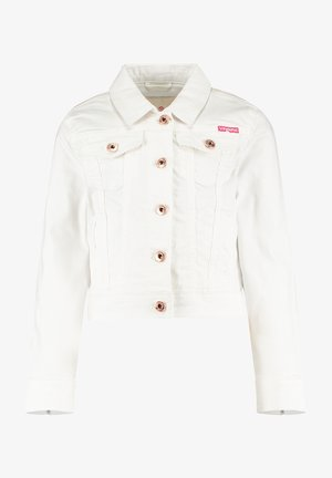 Denim jacket - real white