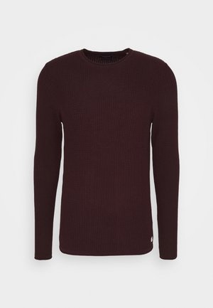 CARLOS NOOS - Strickpullover - port royale