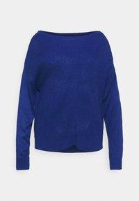 VILA CURVE - VILOU - Sweter - mazarine blue - 4