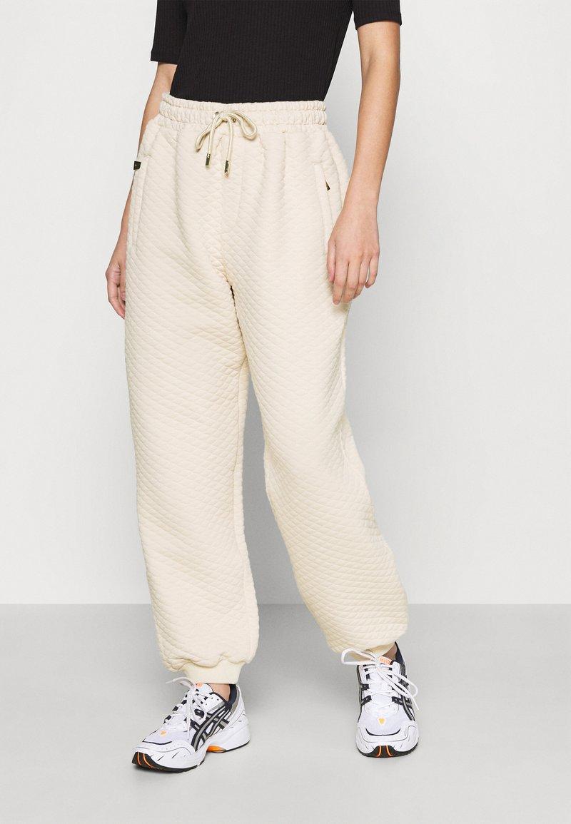 U Collection by Forever Unique - Spodnie treningowe - beige