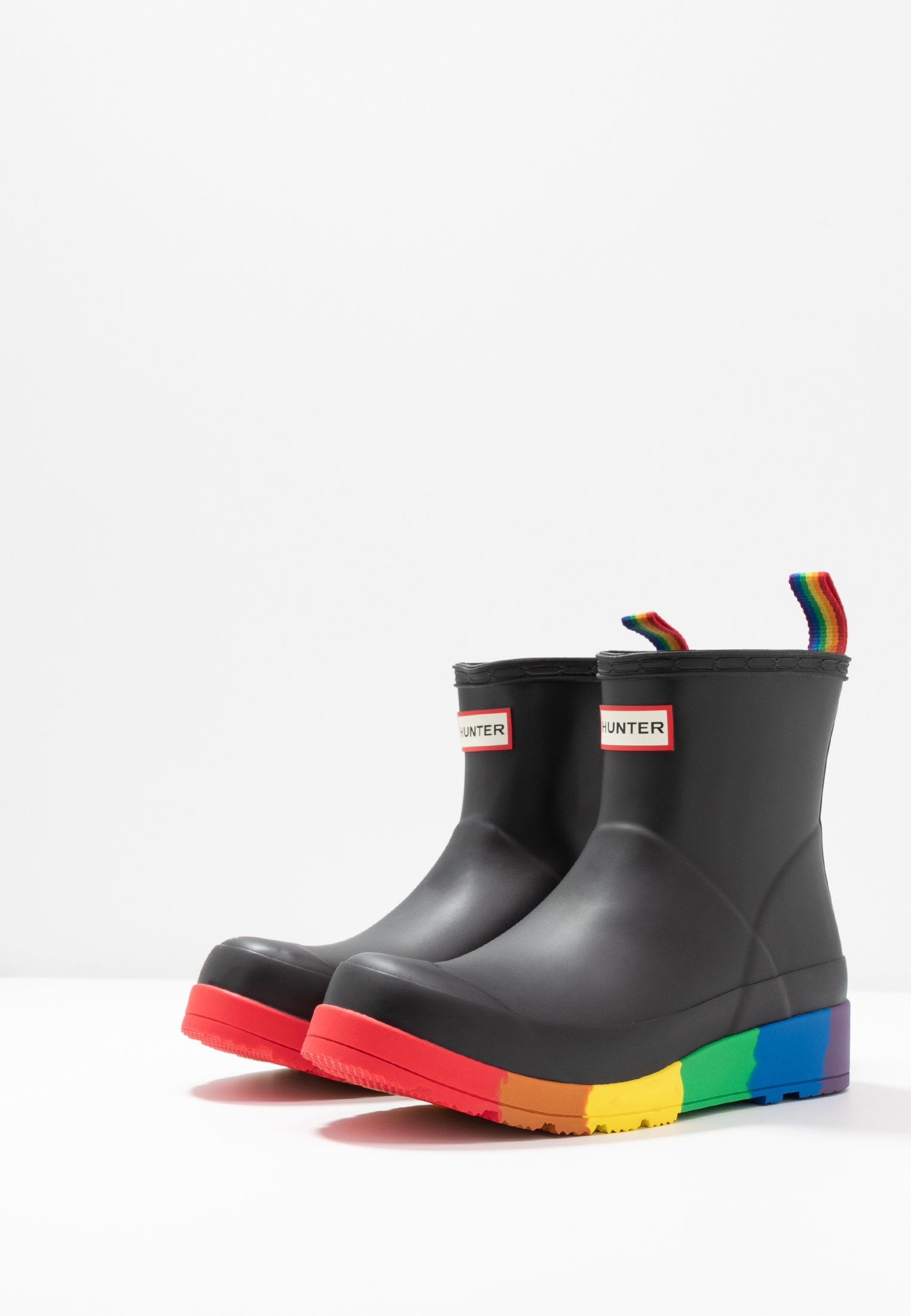 ORIGINAL PRIDE PLAY FLAT BOOT Gummistövlar black