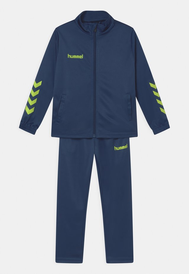 PROMO SET UNISEX - Trainingsanzug - dark denim