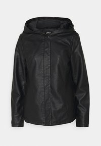ONLY - ONLSEDONA - Faux leather jacket - black - 6