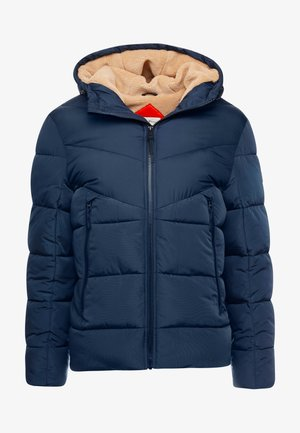 HEAVY PUFFER JACKET - Chaqueta de invierno - sky captain blue