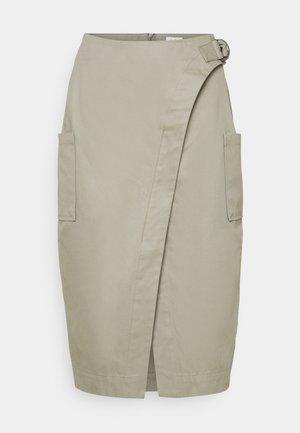 TAMARA SKIRT - Pencil skirt - dusk khaki