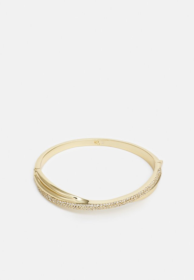 TWISTED PAVE BANGLE - Necklace - gold-coloured