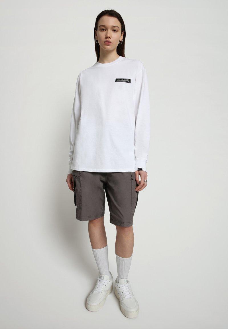 Napapijri - PATCH - Longsleeve - bright white
